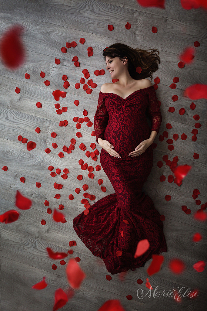 Photographe Femme Enceinte & Glamour