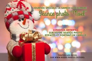 Séance photo Noël à Lausanne - offre spéciale
