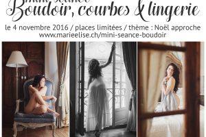 Mini séance «Boudoir, Courbes & Lingerie»