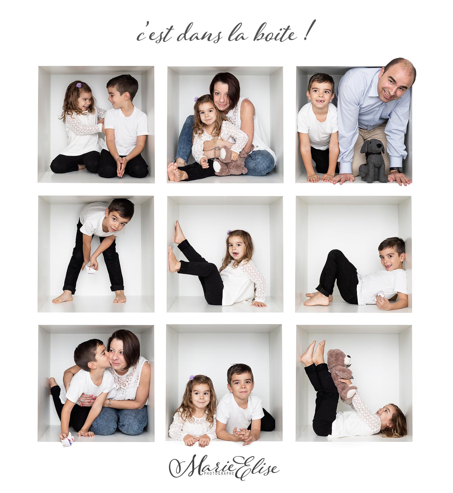 Portrait de Famille original - C'est dans la boite (blanche)