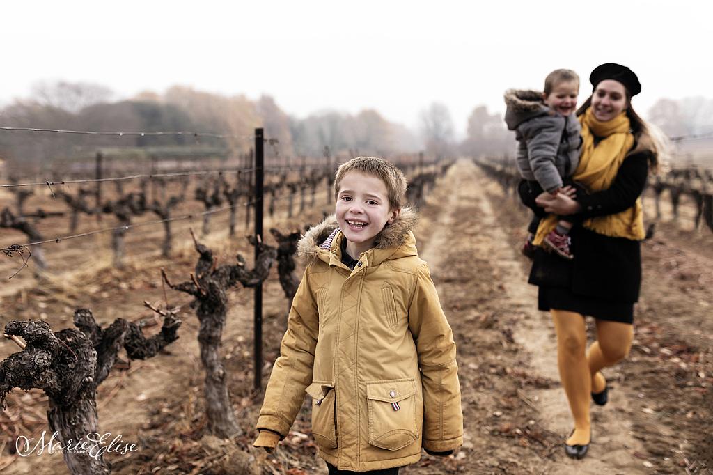 Famille dans les Vignes Lavaux
