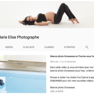 Chaine Youtube Vidéos de Photographe