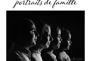 Séance à thème : portrait de famille