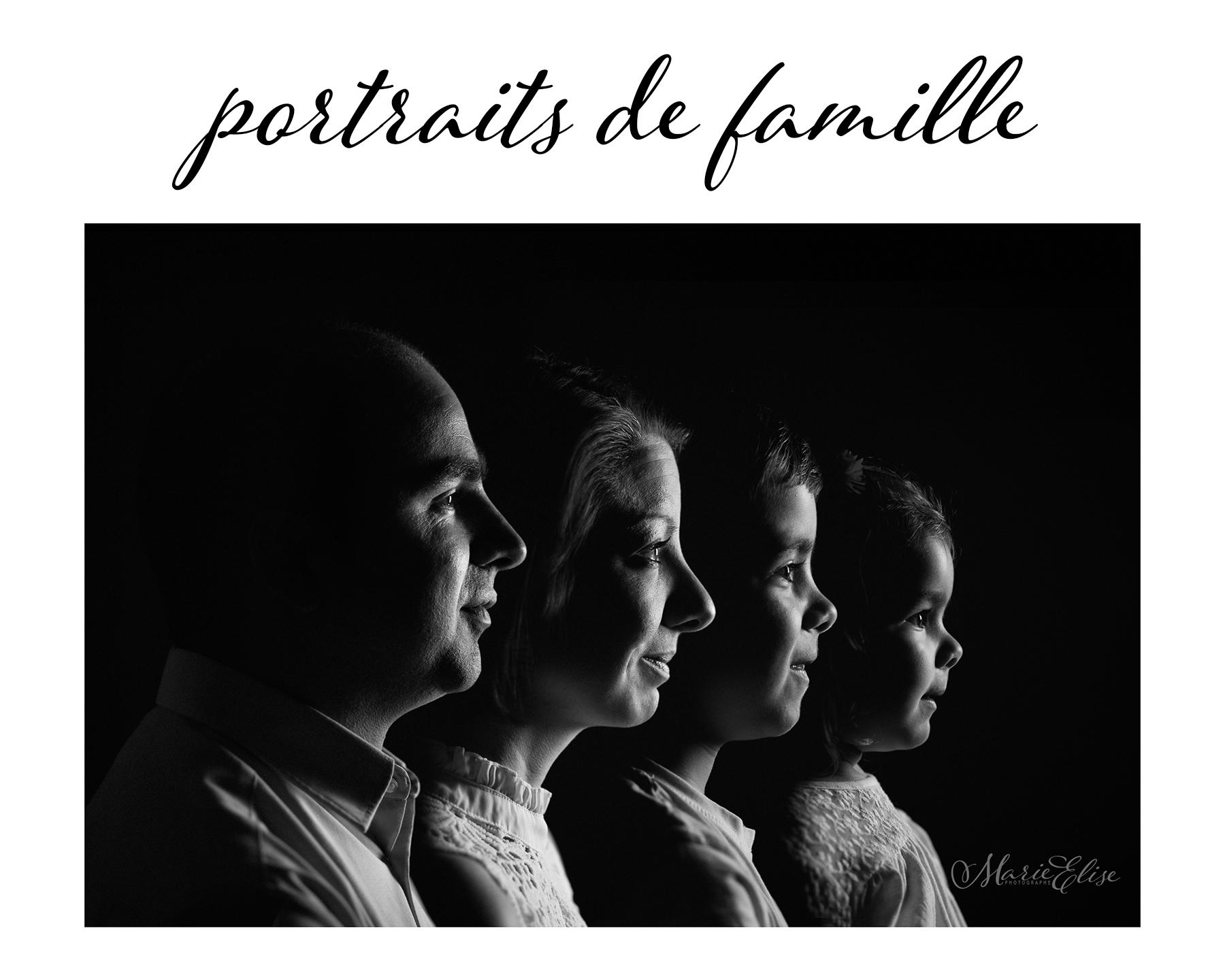 Séance photo portrait de famille