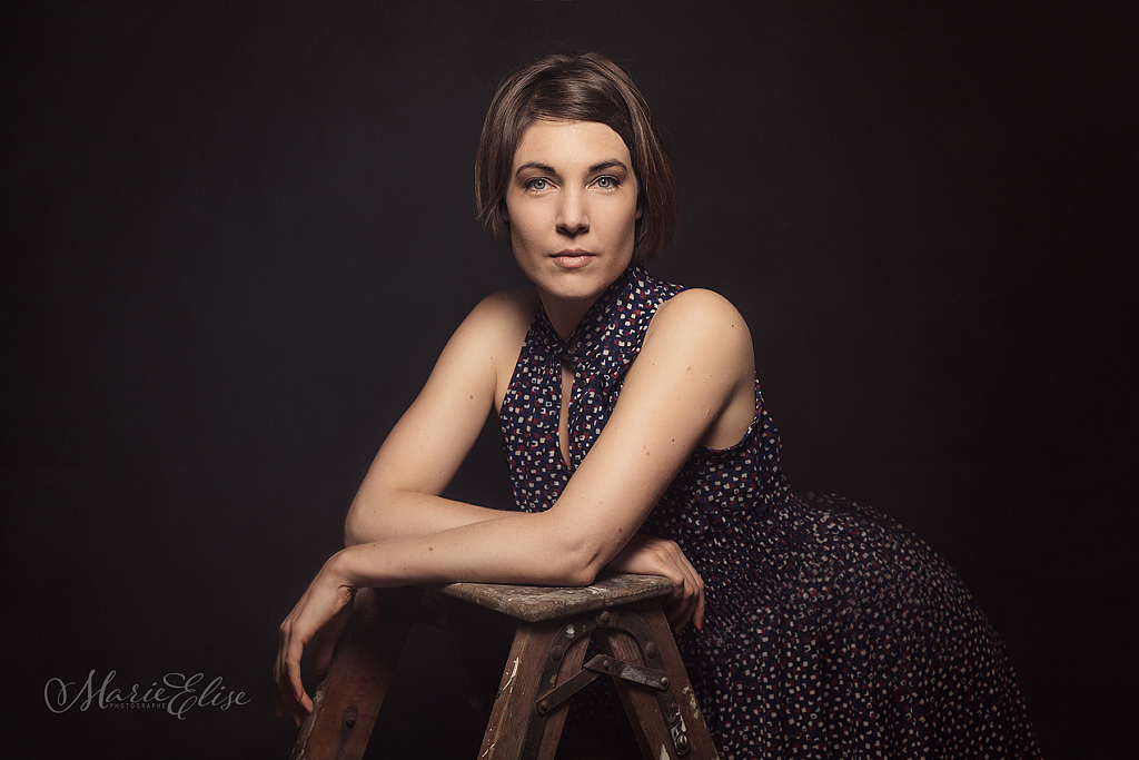 Portrait Madeleine Bongard Comédienne