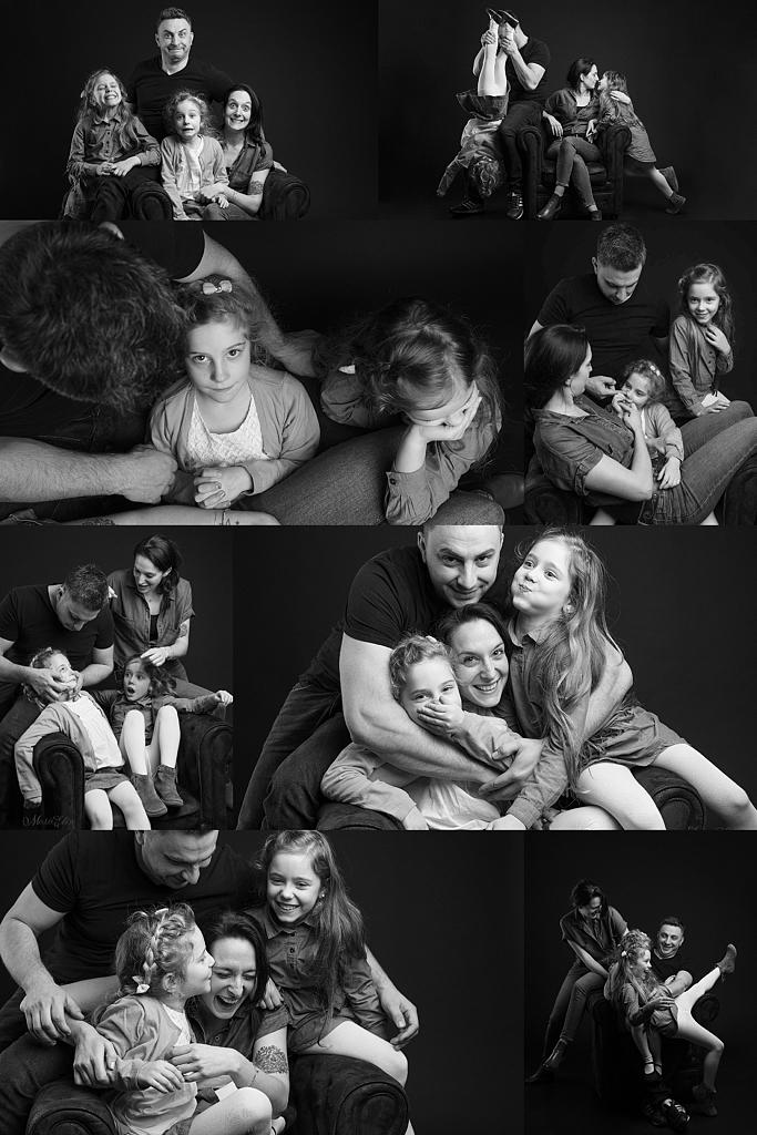 Photographe Famille Studio Lausanne