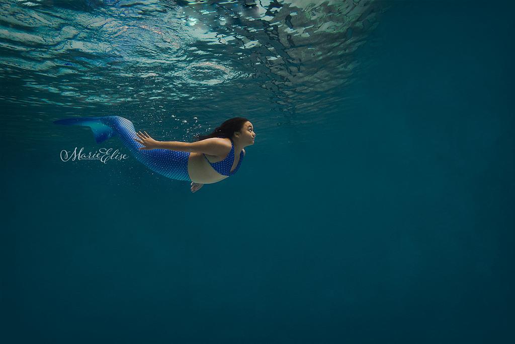 Shooting underwater Lausanne