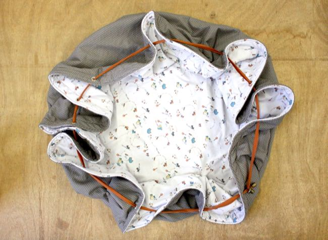 Tutoriel couture Tapis de jeu nomade