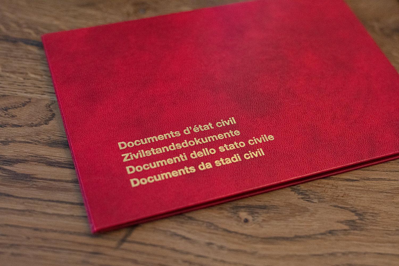 Etat Civil de Lausanne - Naissance 1er enfant