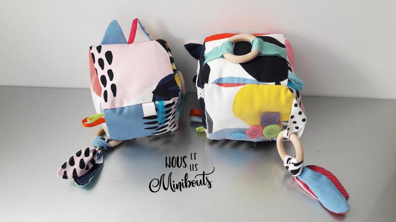 Tutoriel de couture - Cube d'éveil pour bébé