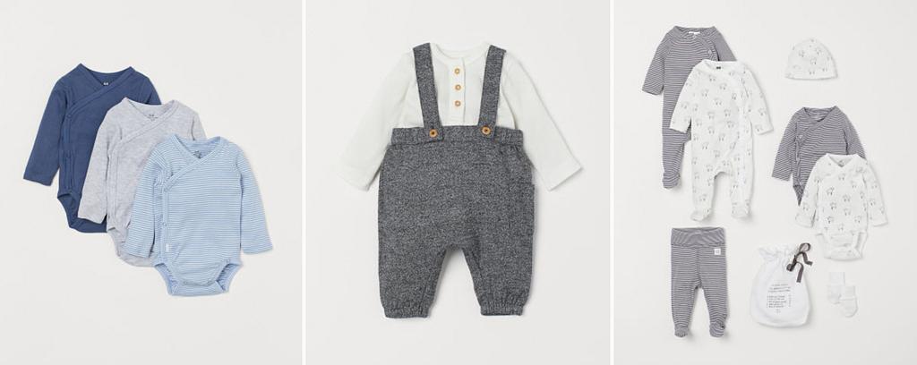 Guide d'achats des vêtements pour la naissance