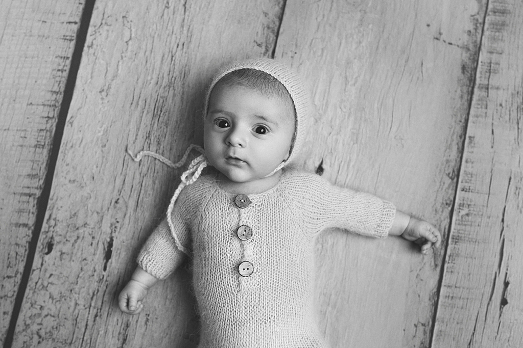Bébé à l'âge de 2 ou 3 mois