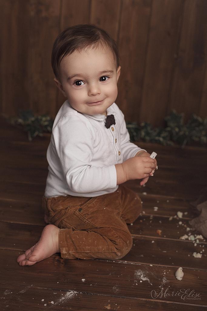 Séance photo anniversaire bébé 1 an