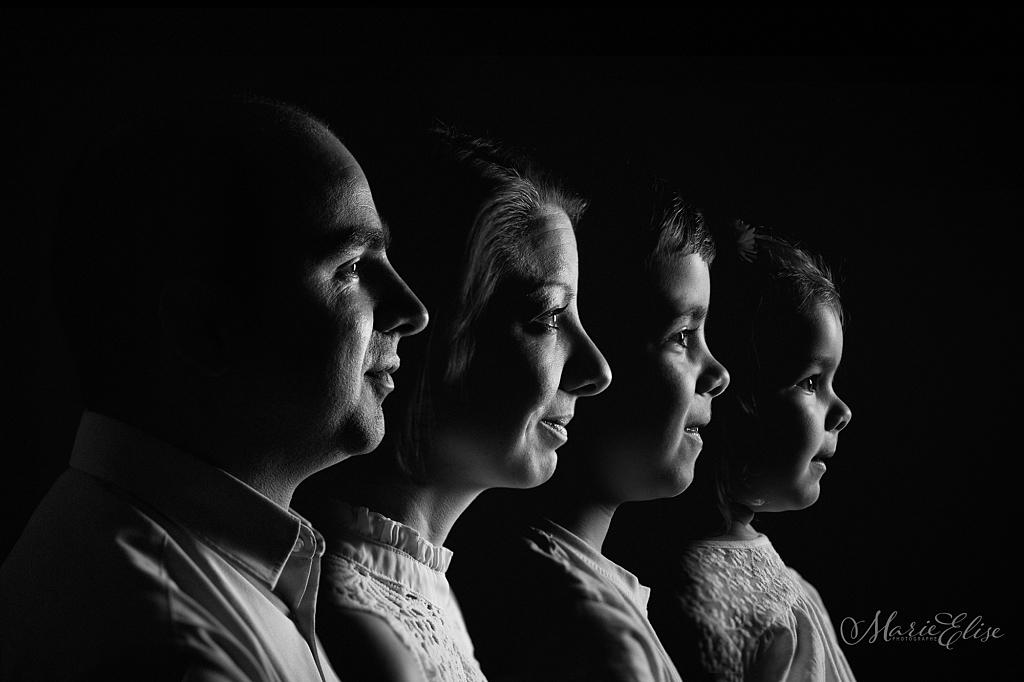 Profil de Famille / Noir & Blanc / Suisse / Lausanne