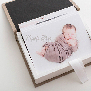 Tirages épais - Photographie Nouveau né - Marie Elise