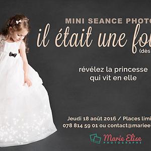 Mini Séance Photo à Lausanne - il était une fois ...