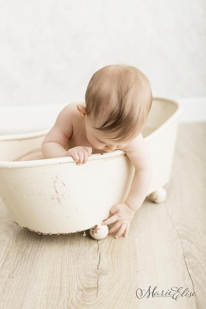 Photographe pour anniversaire de bébé