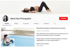Lancement de ma chaîne Youtube – Lausanne
