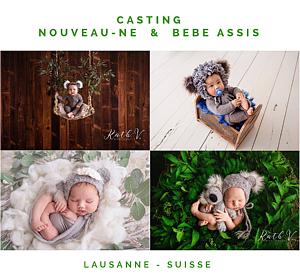 Casting Nouveau-né – Formation Kath V. à Lausanne