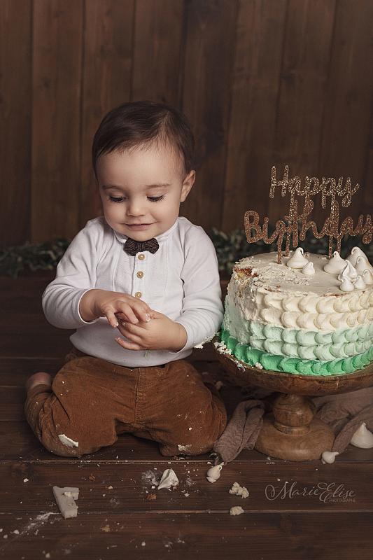 Smash the cake - anniversaire bébé 1 an